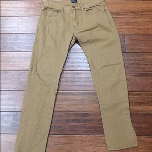 J.Crew The Driggs Tan Jeans
